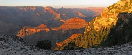 Beautiful landscape of the Grand Canyon