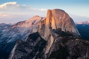 Mountain 'half dome', Yosemite National Park