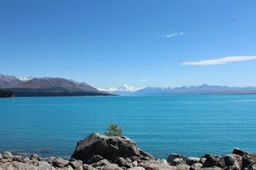 Pukaki is a lake in New Zealand