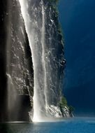 magnificent geirangerfjord norway waterfall