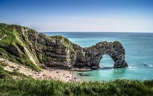 dorset cliffs in england