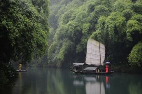 the three gorges landscape china