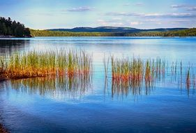 lake in provincial park canada