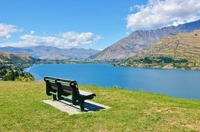 deliciously beautiful bench lake