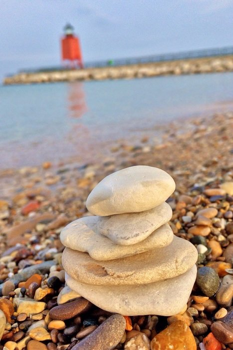 delightful stacking stones