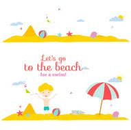 Vector illustration banners for tourism or camp with kids N2
