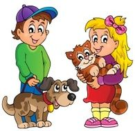 Children with pets theme 1