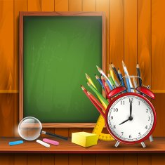 Back to school - vector background N4