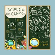 lovable science camp banner