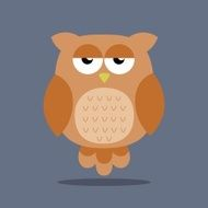 Vector Abstract Owl Design N3