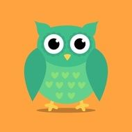 Vector Abstract Owl Design N4
