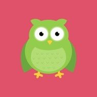 Vector Abstract Owl Design N7
