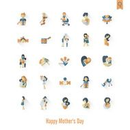 Happy Mothers Day Icons N405