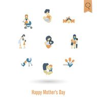 Happy Mothers Day Icons N409