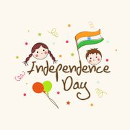 Indian Independence Day celebrations poster design