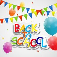 Back to School Concept Vector Illustration N4