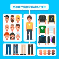 Make Your Flat Character