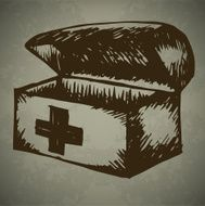 Doodle First Aid Box