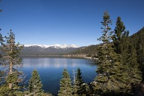 lake tahoe california landscape