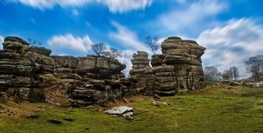Brimham rocks in England