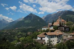 holiday italy south tyrol schenna