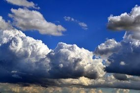 beautiful and delightful clouds