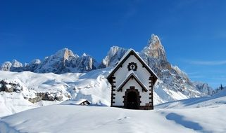 dolomites church