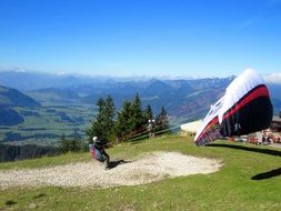 sport fly paragliding
