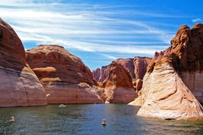 beautiful peaceful lake powell page