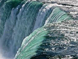 magnificent niagara waterfalls landscape river water