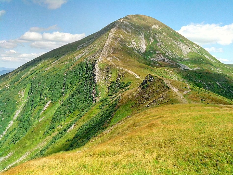the carpathians in Ukraine