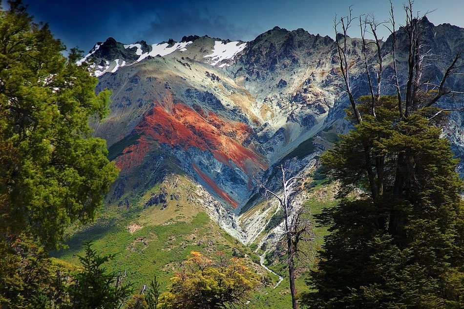 Andean mountains in Argentina