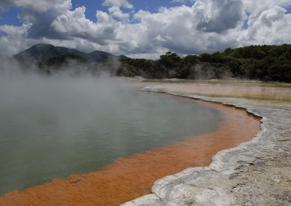 thermal hot source water, new zealand