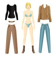 Doll with clothes N11