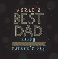 Greeting card design for Father's Day celebration N2