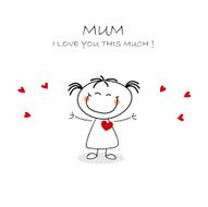 Mothers Day Card N20