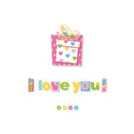 birthday gift I love you greeting card