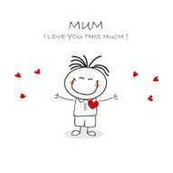 Mothers Day Card N31
