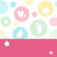 Baby shower background N2