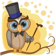 Owl in a hat N2