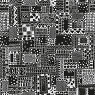 Seamless pattern with abstract figures N8