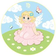 Children's Virgo zodiac sign
