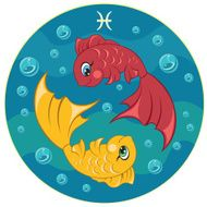Children's Pisces zodiac sign