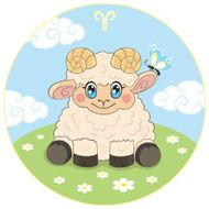 Children's Aries zodiac sign