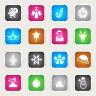 Multicolor Icons - Christmas N2