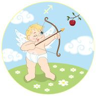 Children's Sagittarius zodiac sign