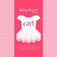 Baby Shower Invitation Template N7