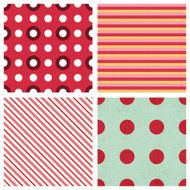 vector cute seamless patterns collection N3