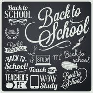 Back to School Calligraphic Designs