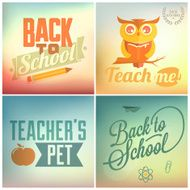 Back to School Calligraphic Designs N2
